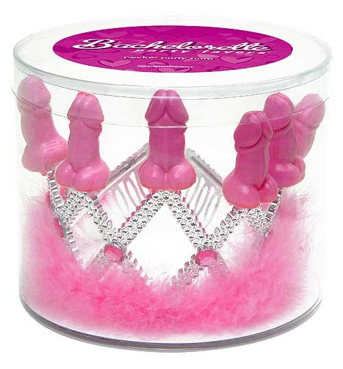 Light up bachelorette party tiara pecker crown for Bachelorette party decoration