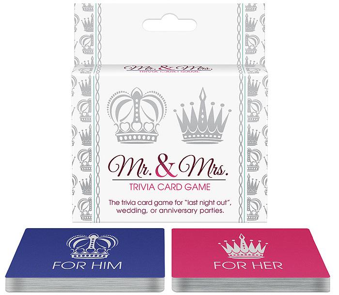 Mr. & Mrs. Trivia Card Game