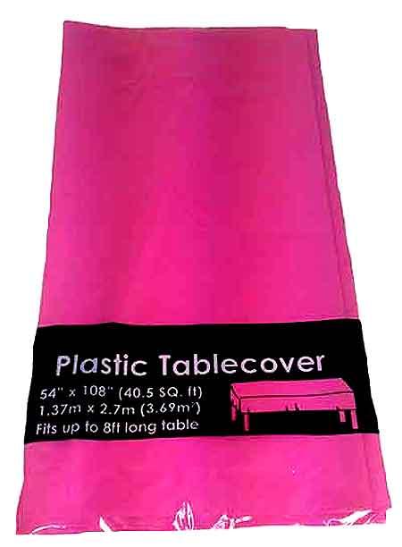 Tablecloth   HOT PINK