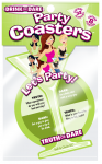 Let's Party Coaster - Green - Truth or Dare