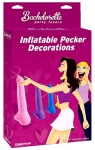 Inflatable Pecker Decorations (4 pk)