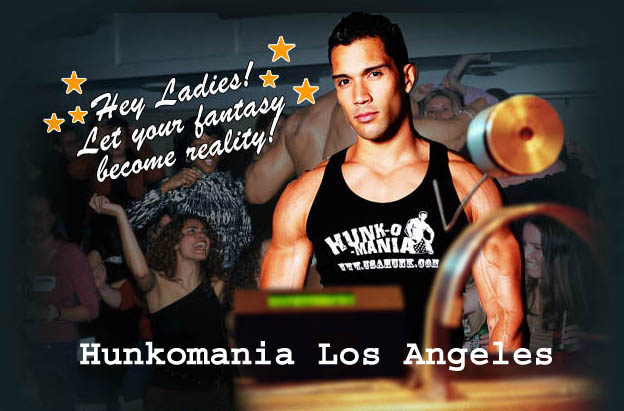 Male Strippers Los Angeles CA - Bachelorette Party Strippers