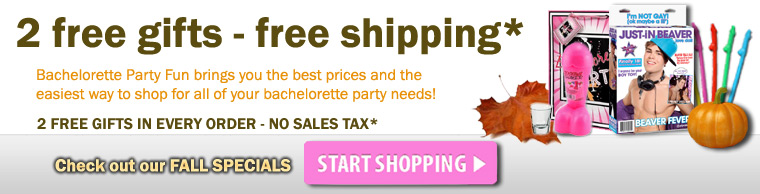 Bachelorette Party Supplies & Discount Favors