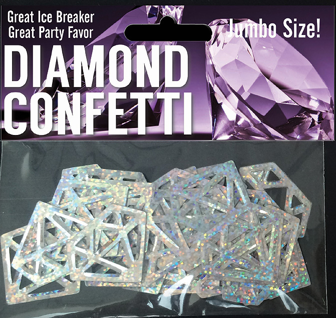 Discount Bachelorette Party Decorations & Supplies - Diamond Confetti