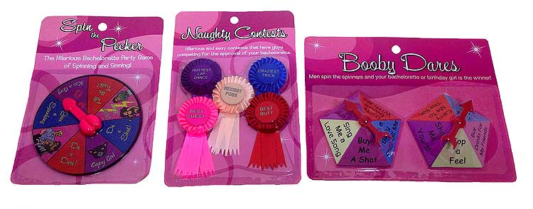 Bachelorette Party Games & Favors - Discount
