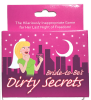 Bride to Be Dirty Little Secrets Bachelorette Party Game Cards