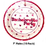 Bachelorette Party Plates 7 inch - Discount LGBT Bachelorette Party Supplies